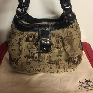 Authentic Coach Stagecoach Shoulder Bag